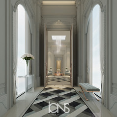 Royal Palace Hallway Design