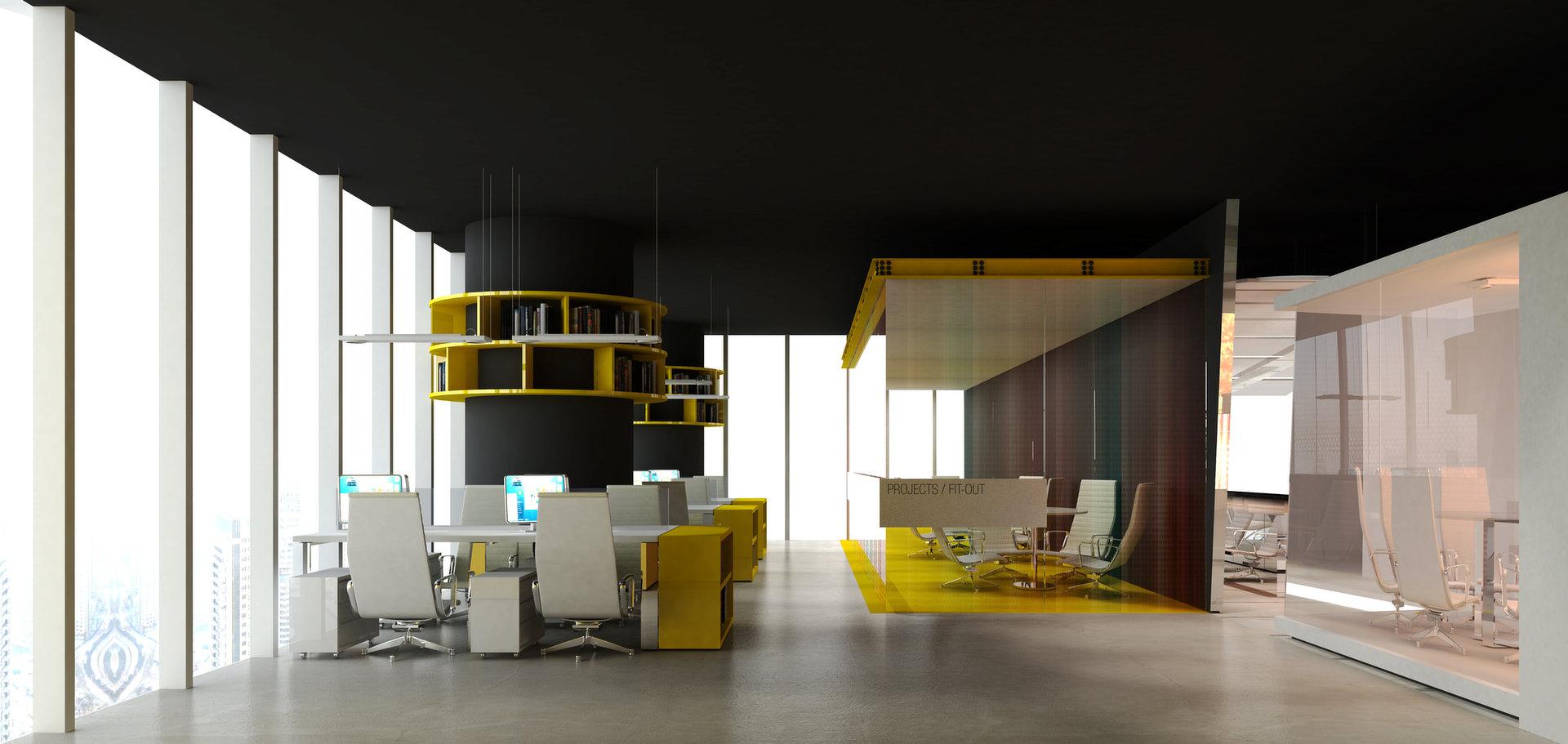 MHG Office Interior Design - Dubai