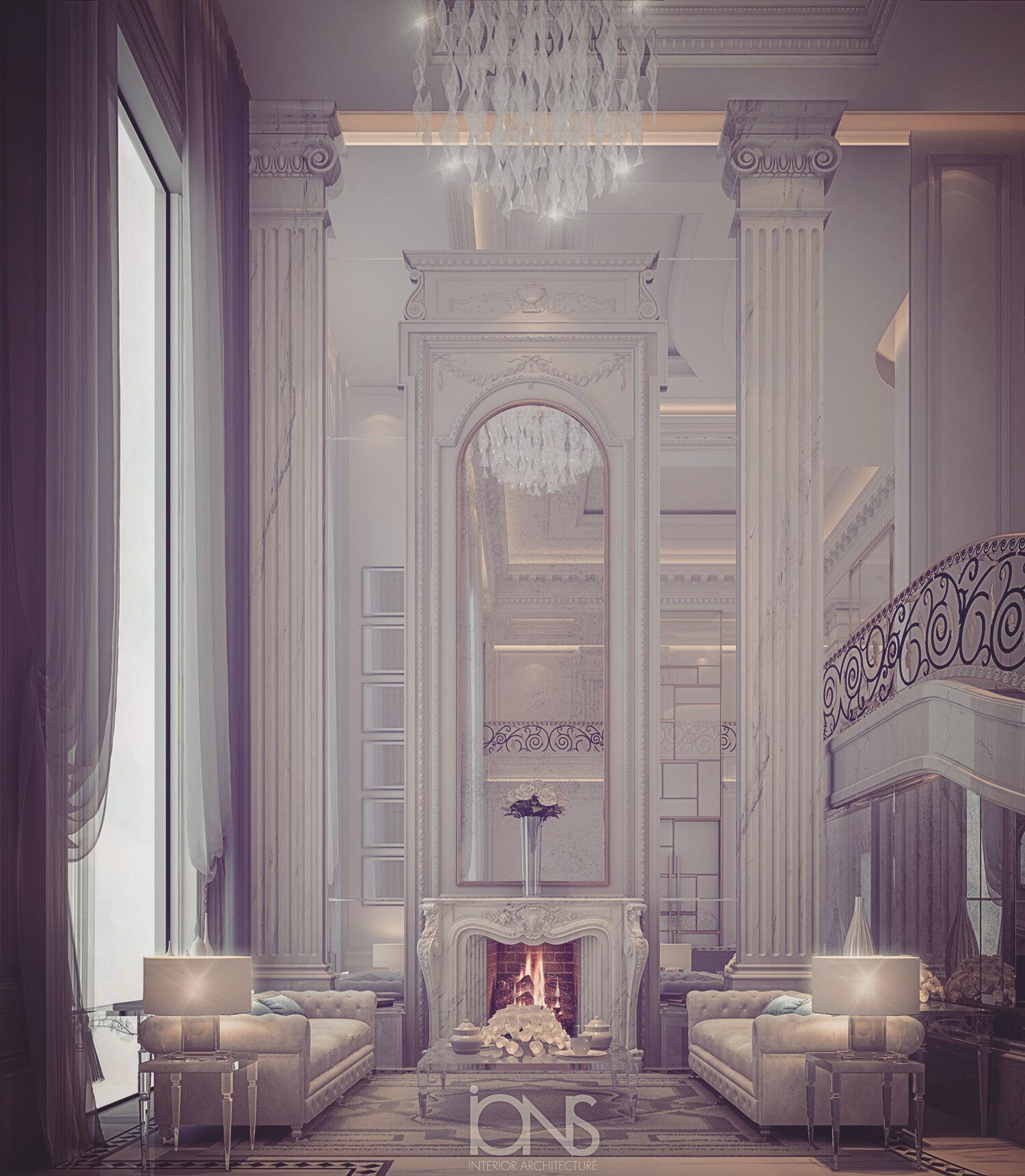 Villa Design Glamorous Lobby Ideas