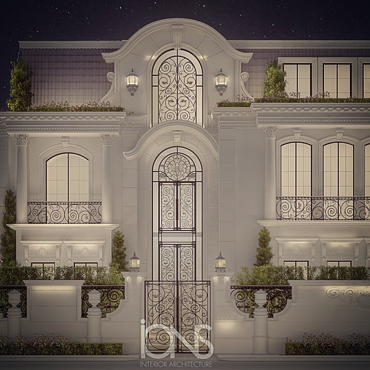 Architecture Villa Design   Dubai  Uae