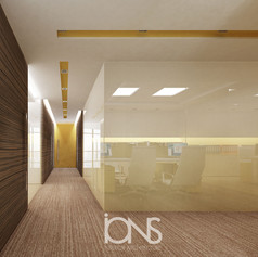 Sh-zayed-road-Dubai-UAE-office-corridor-