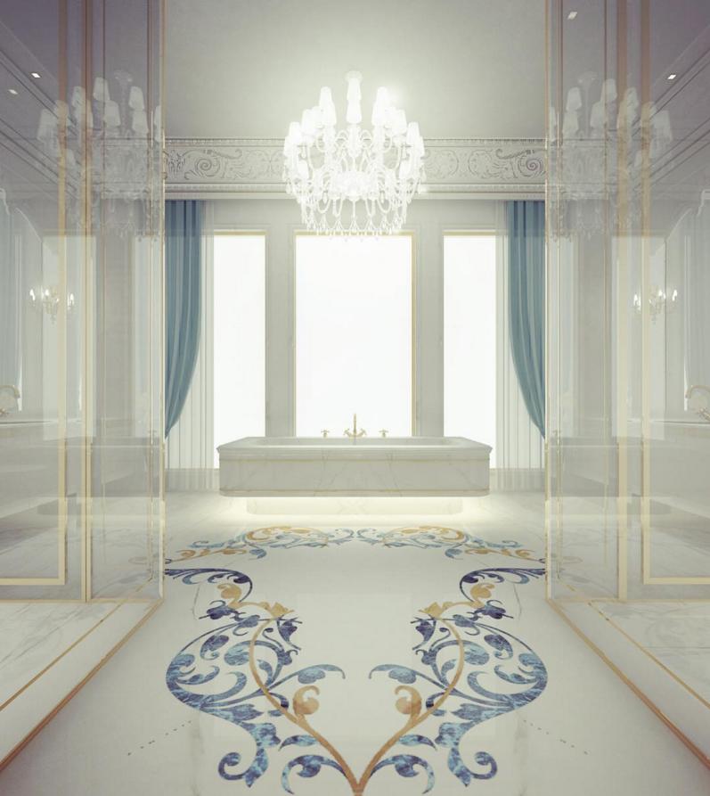 Luxe Bathroom Interior Ideas