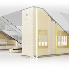 Retail interior design - Kiosk design UAE