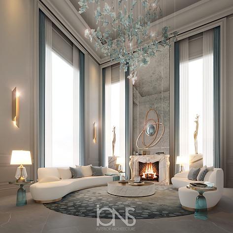 Palace interior design. Virginia,US