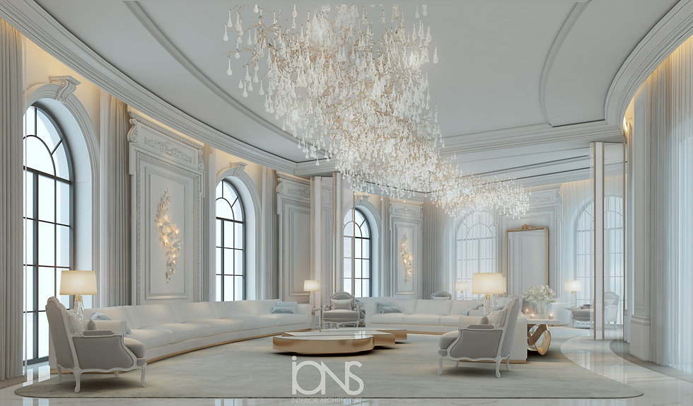 best Interior design for a palace by our company ions design