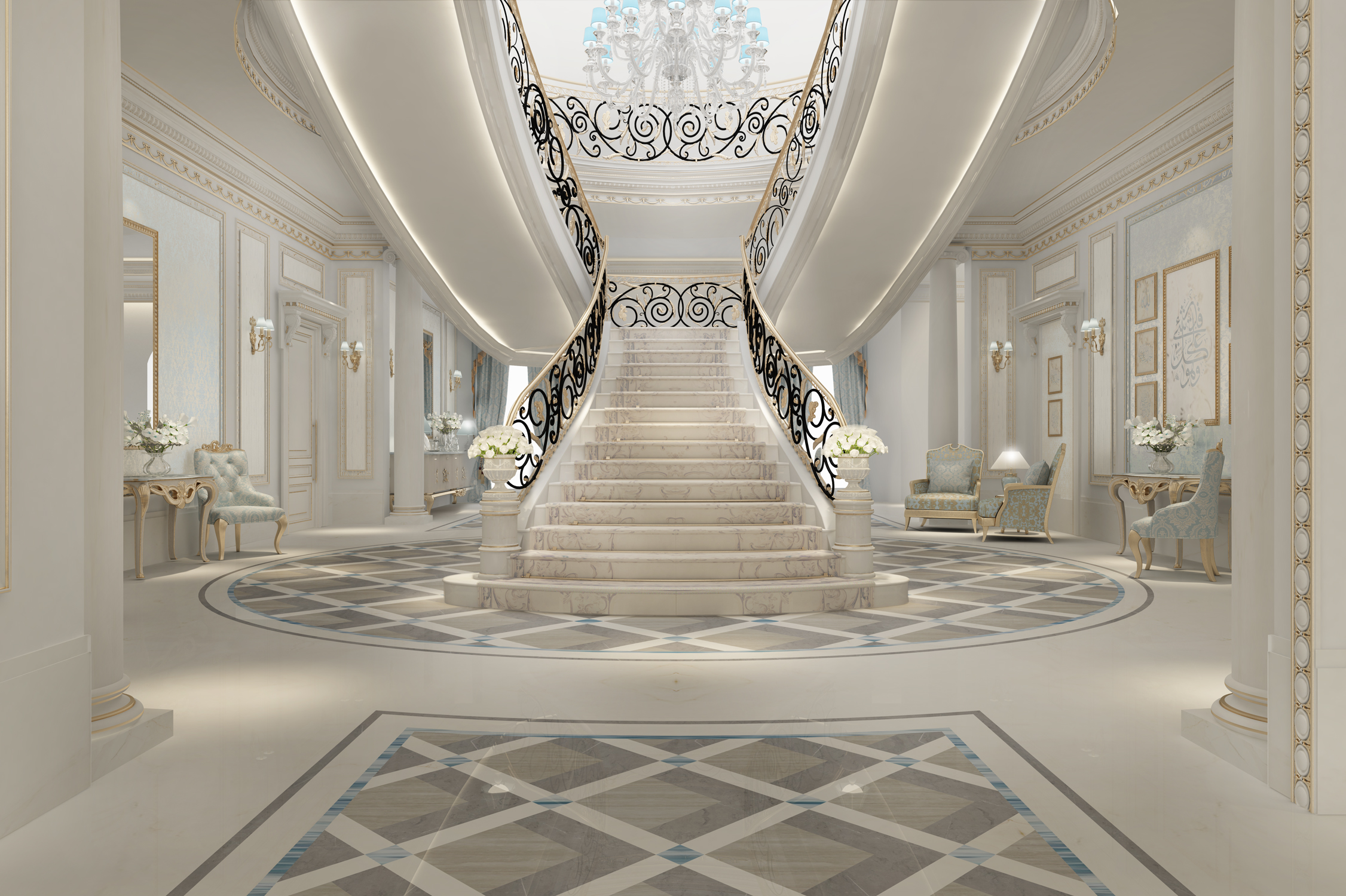 Villa Design - Entrance Lobby Ideas