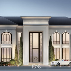 Dubai villa exterior architcture design