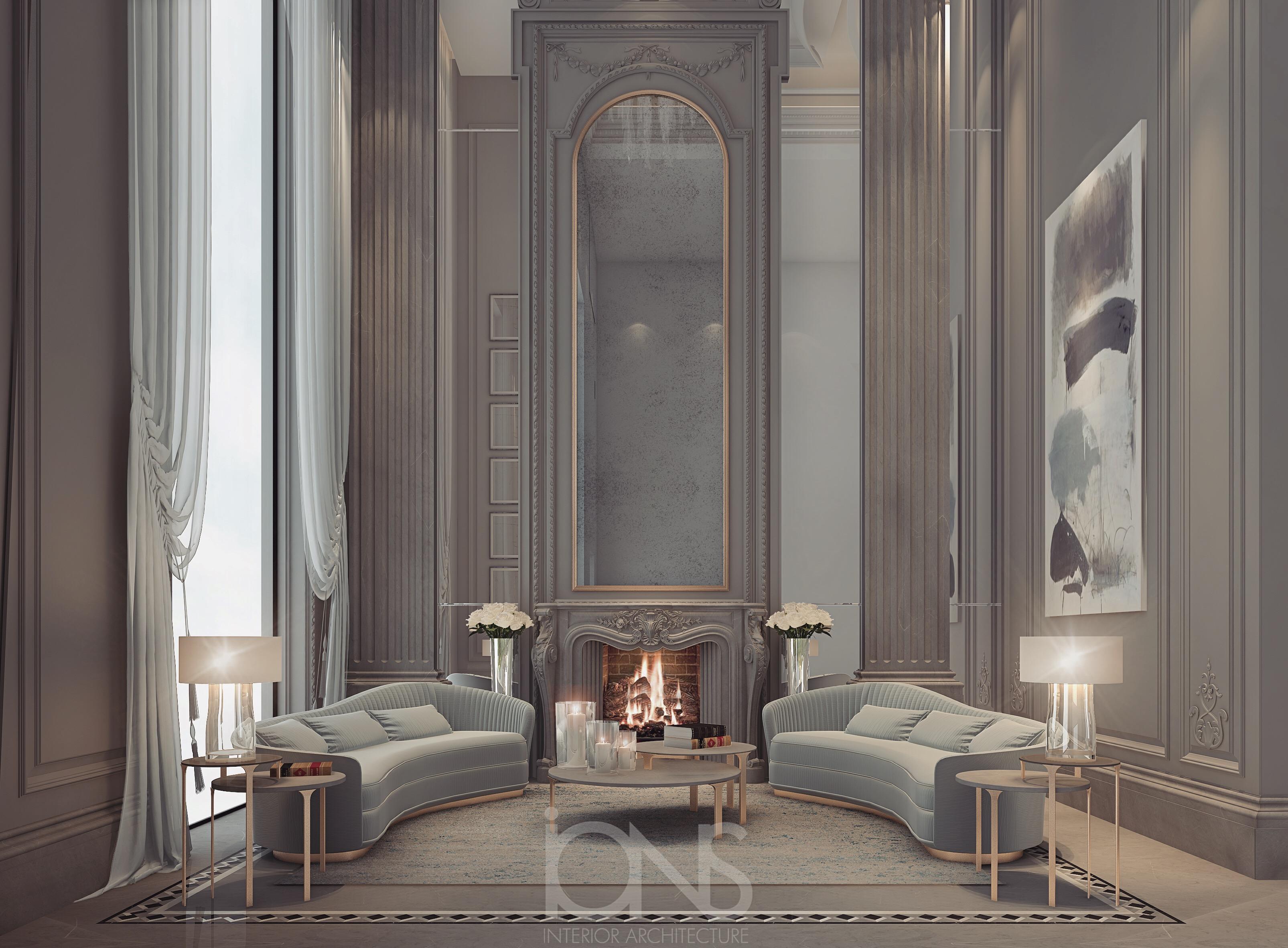 Renaissance Style Villa Design