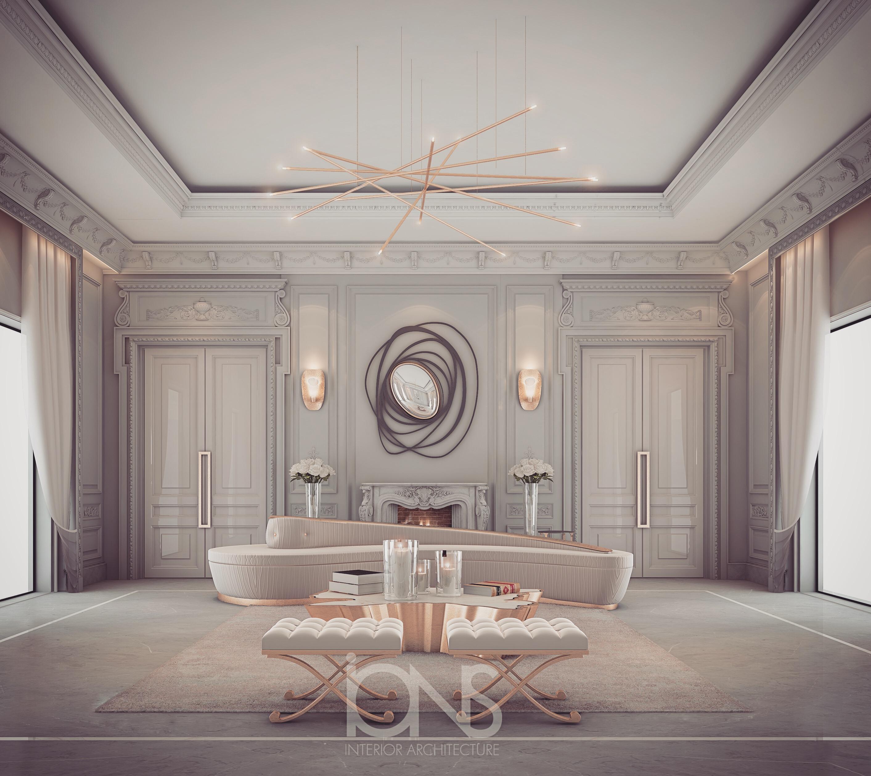 Transitional Style Villa Design