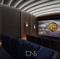 Home Cinema theatre Modern Interior  Design