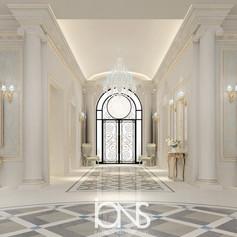 Oman-Classic-Villa-Entrance-lobby-design