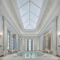 Royal Residence  Indoor Pool Design