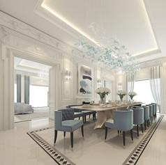 French design villa