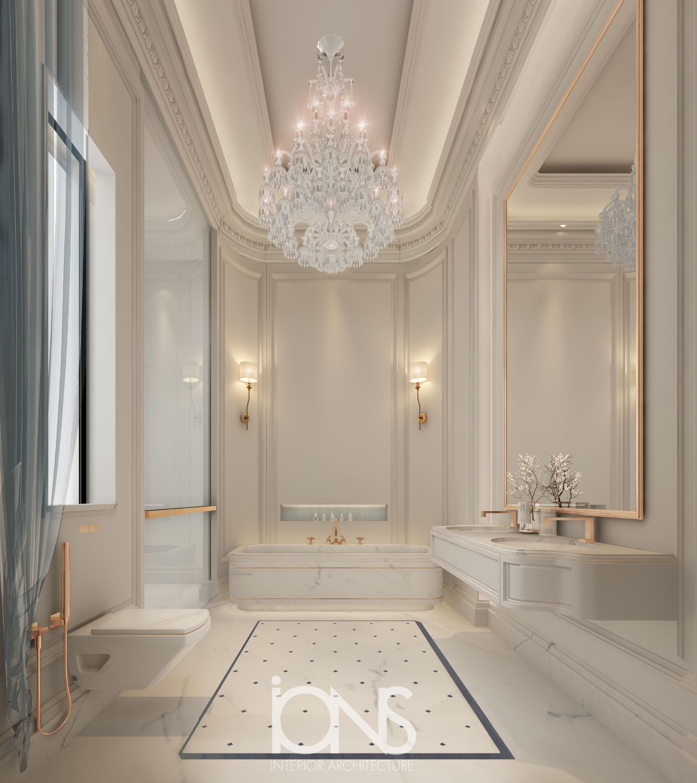 Master Bathroom Interior Designing