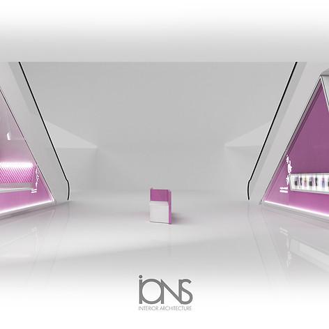 Kiosk Design.Dubai , UAE