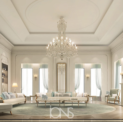 Luxury Sitting Majlis Design in Doha