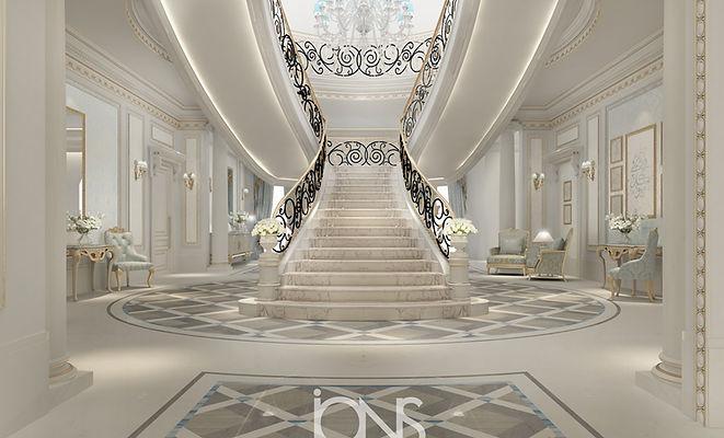 Oman-Classic-Villa-elegant-staircase-des
