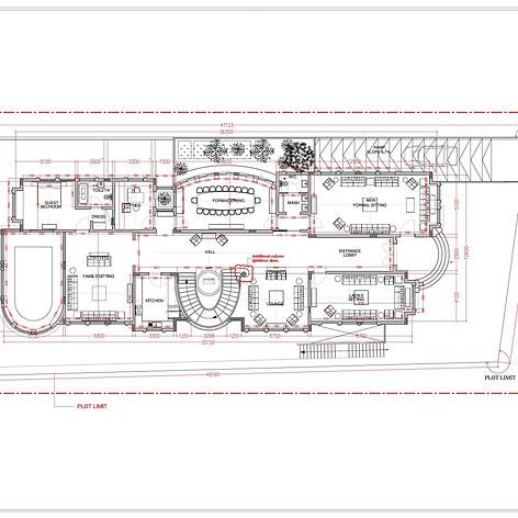 Furniture layouts