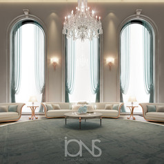 Majlis and sitting rooms design by IONS