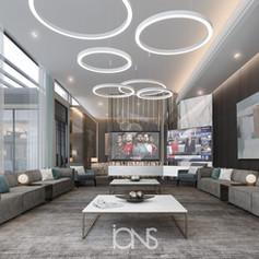formal sitting lounge design