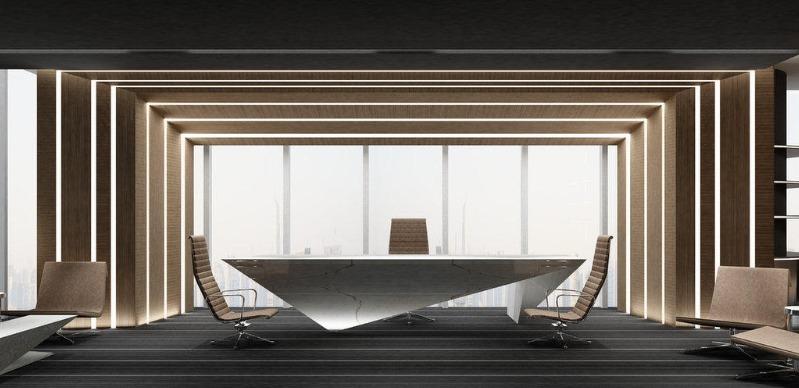 CEO Office Interior Design - Dubai