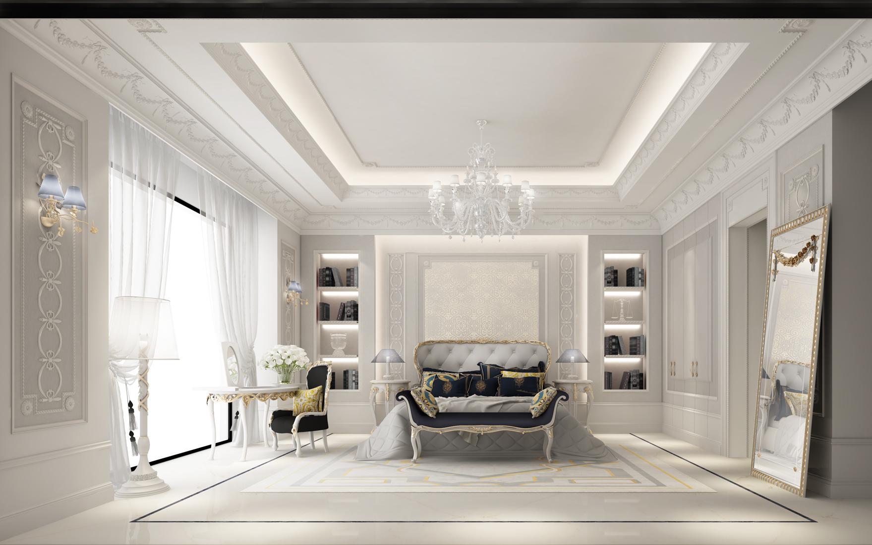 Ideas for Neutral Bedroom Interior