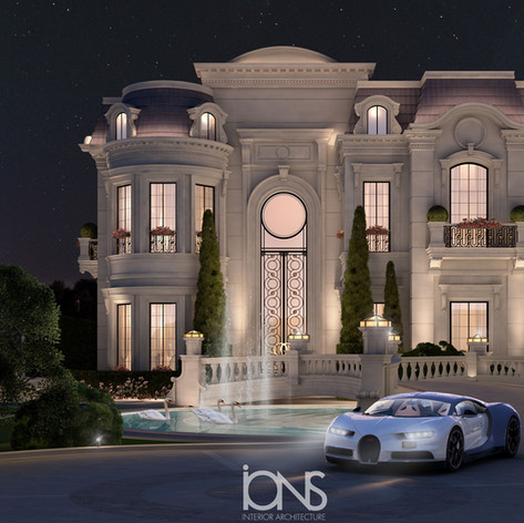 Palace Style  House Design