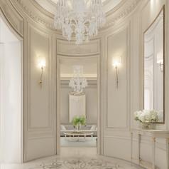 lobby design dubai villa