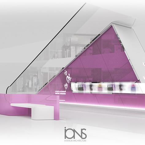 Kisok Retail Perfume store design