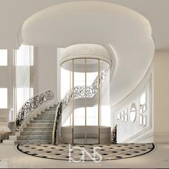 Elevator Design , Doha Villa,Qatar