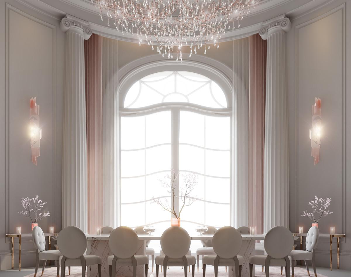Best Dining room Interior design Dubai villa