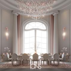 Virginia-USA-mansion-family-dining-room-