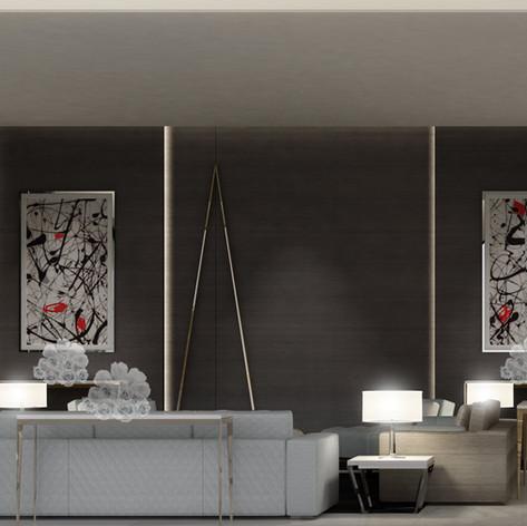 Modern Living Room interior design Dubai