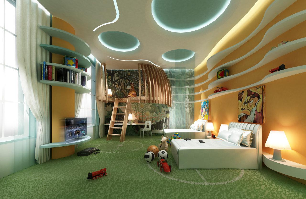 Kid's Bedroom Interior -Dubai , UAE
