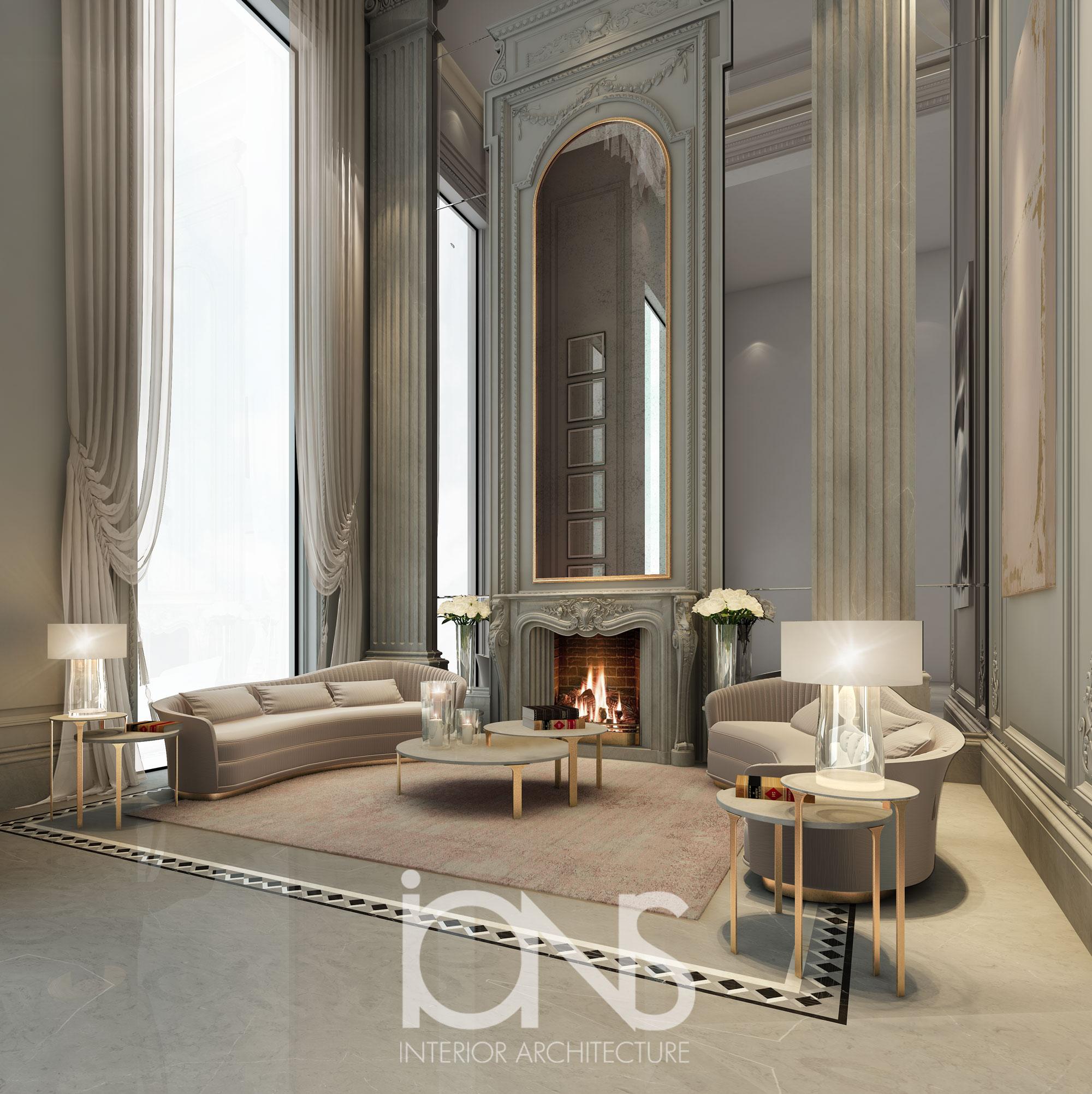 High Ceiling Villa Design
