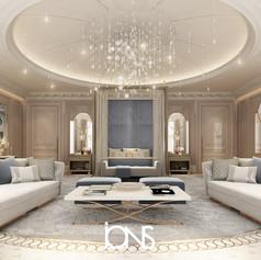 Royal Master bedroom design in Doha