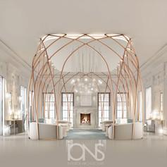 Modern Interior design Doha palace