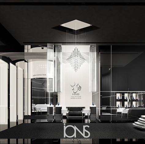 Perfume Retail shop interior design dubai
