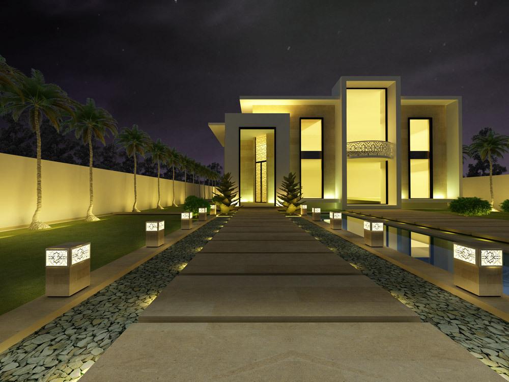 Villa Design  -  Minimalist Style