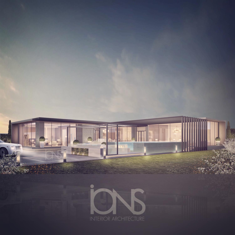 Glass House Villa Design Ideas