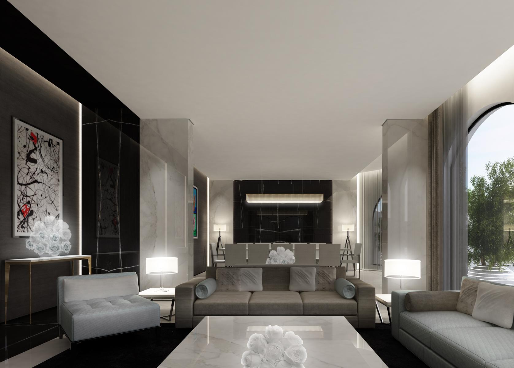 Modern House Interiors Dubai