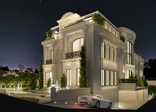 Ions luxury interior design dubai interior design for Modern house qatar