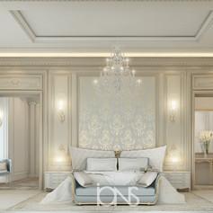Master bedroom interior design Doha,Qatar
