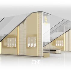 Retail interior design - Kiosk design Dubai