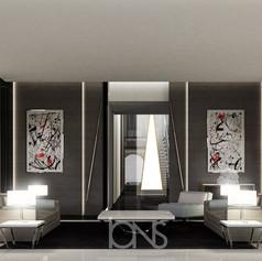 Sofa seating modern interior design