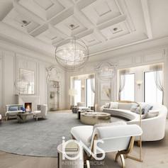 Qatar Villa sitting interior design