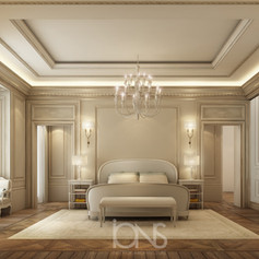 Master Bedroom Interior design- Dubai Villa