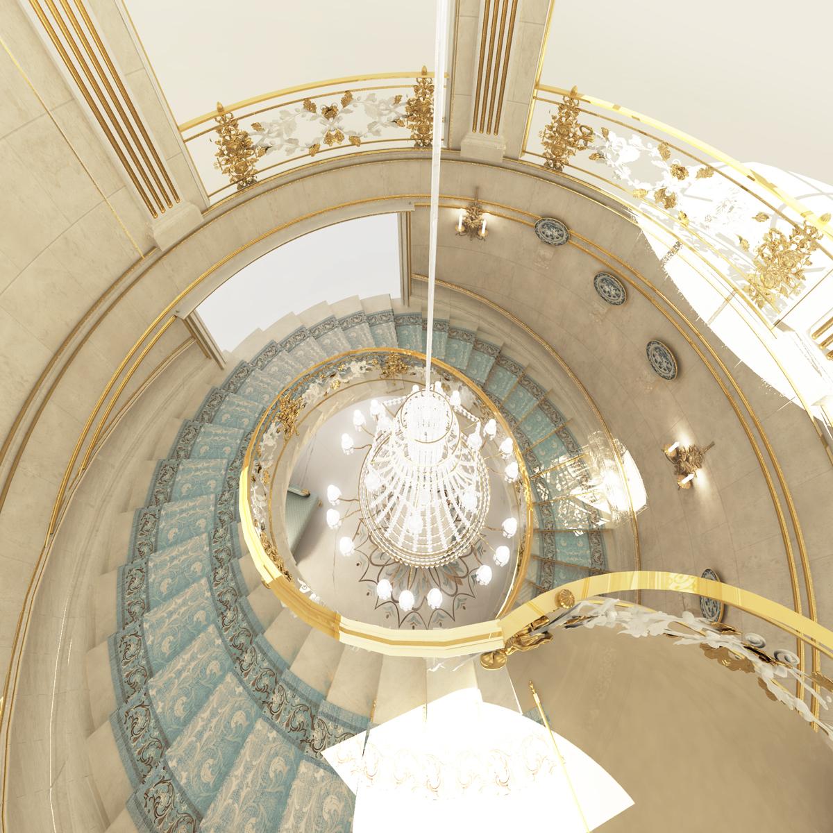Villa Design - Amazing Staircase