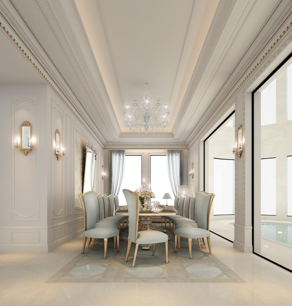 Galmorous Dining Room Interiors