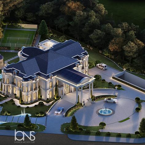 Mansion House Exterior  Design